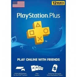Playstation Plus: 12 Month...