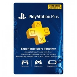 Playstation Plus 3 Month...