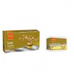 Vlcc Gold Facial Kit + Gold...