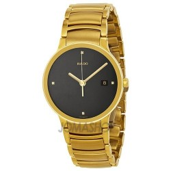 Rado watch for men black full gold watch