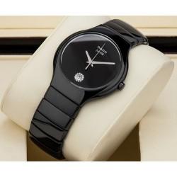 Rado ceramic watch for men round dial