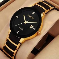 Rado watch for women black gold