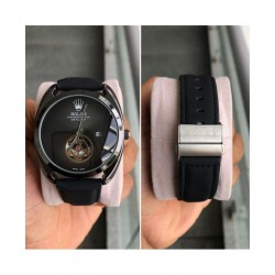 Rolex watch for men leather belt