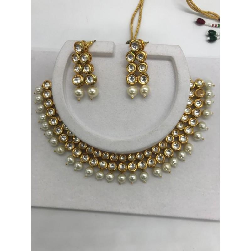 Shastta trendz high quality kundan necklace set