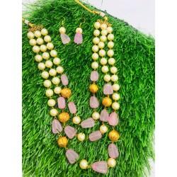 Shastta Trendz 3 Layer Pink String
