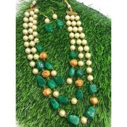 Shastta Trendz 3 Layer Green String