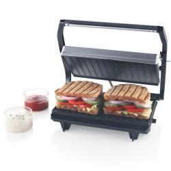 Borosil Prime BGRILLPS11 Grill Sandwich Maker Grey