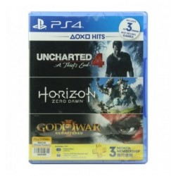 Uncharted 4 + Horizon + God...
