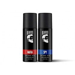 Beardo Perfume Body Spray Combo - Mafia & Spy