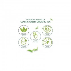 Eco Valley Organic Green Tea Classic Green 30 Tea Bags