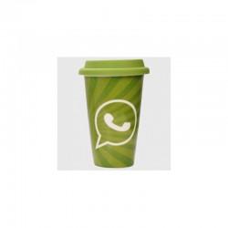 Whatsapp Logo Social Media Plastic Coffee Mug