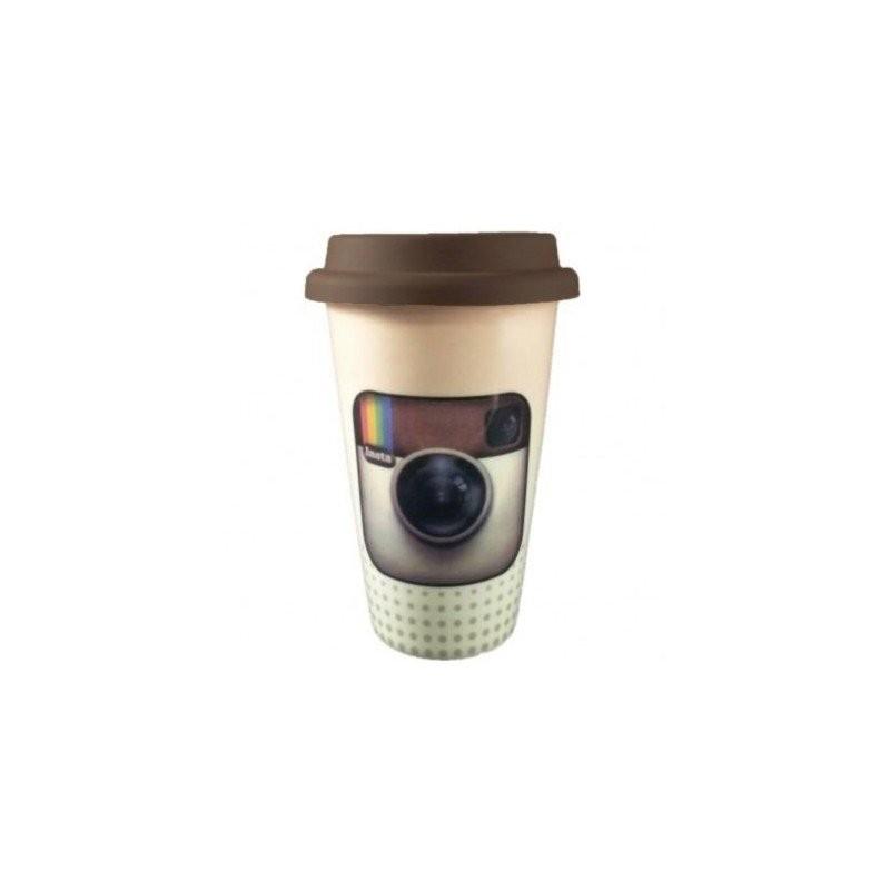 Instagram Logo Social Media Plastic Coffee Mug