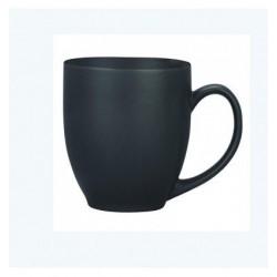 Henniger House Of Luxury Brown Matte Ceramic Coffee Mug Set Of 4