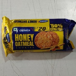 Cremica Honey Oatmeal Cookies 75g pack of 6