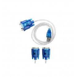 RAJIEKART USB TO RS232 SERIAL PORT 9 PIN DB9 CABLE SERIAL COM PORT CONVERTOR CABLE