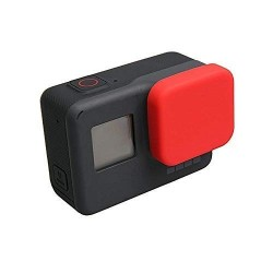 SILICONE LENS DUSTPROOF PROTECTOR COVER LENS CAP ACTION CAMERA ACCESSORIES FOR GOPRO HERO 5