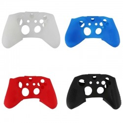 Soft Silicone Rubber Skin Gamepad Protective Case Cover for Microsoft Xbox One S for Xbox One X Controller