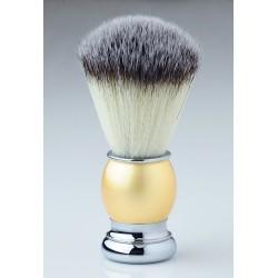 Pearl Shaving Brush - Metal Handle - Synthetic hair