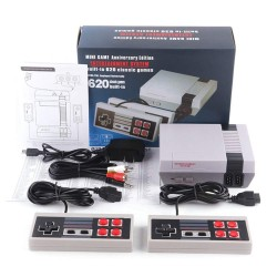 VEXCLUSIVE 620 GAMES IN 1 CLASSIC RETRO TV GAMEPADS MINI GAME CONSOLE WITH 2 CONTROLLERS
