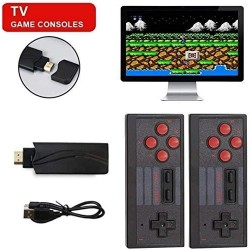 Vexclusive Extreme Mini Game Box Stores 660 Games Wireless USB HDMI TV 2.4G Dual Wireless Gamepad