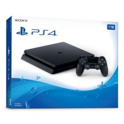 PS4 1TB SLIM BUNDLED WITH SPIDER-MAN, GT SPORT, RATCHET & CLANK (Imported)