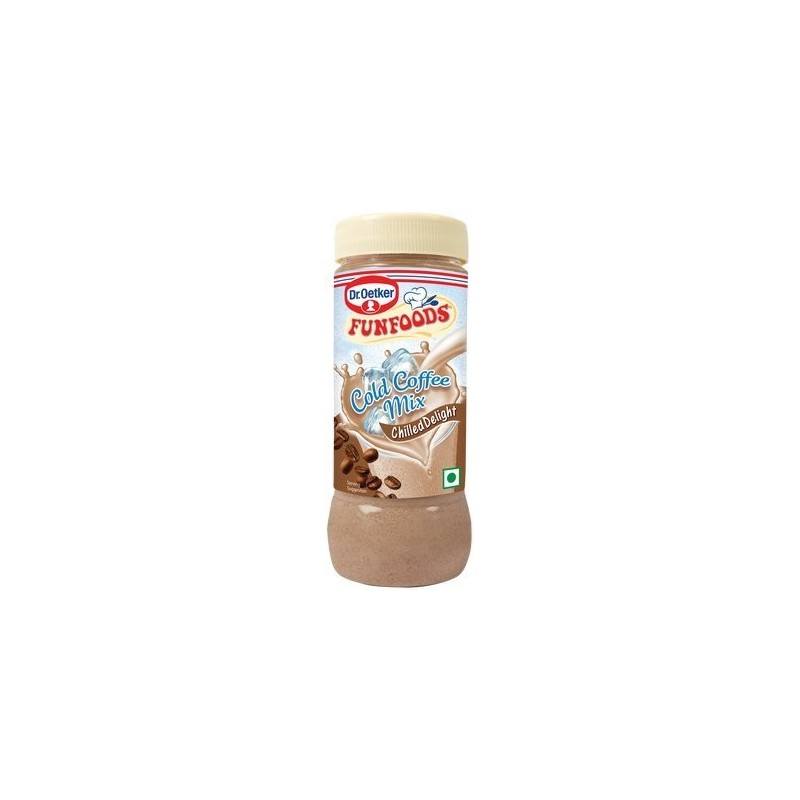 Funfoods Milk Shake Mix Cold Coffee Chilled Delight 200g