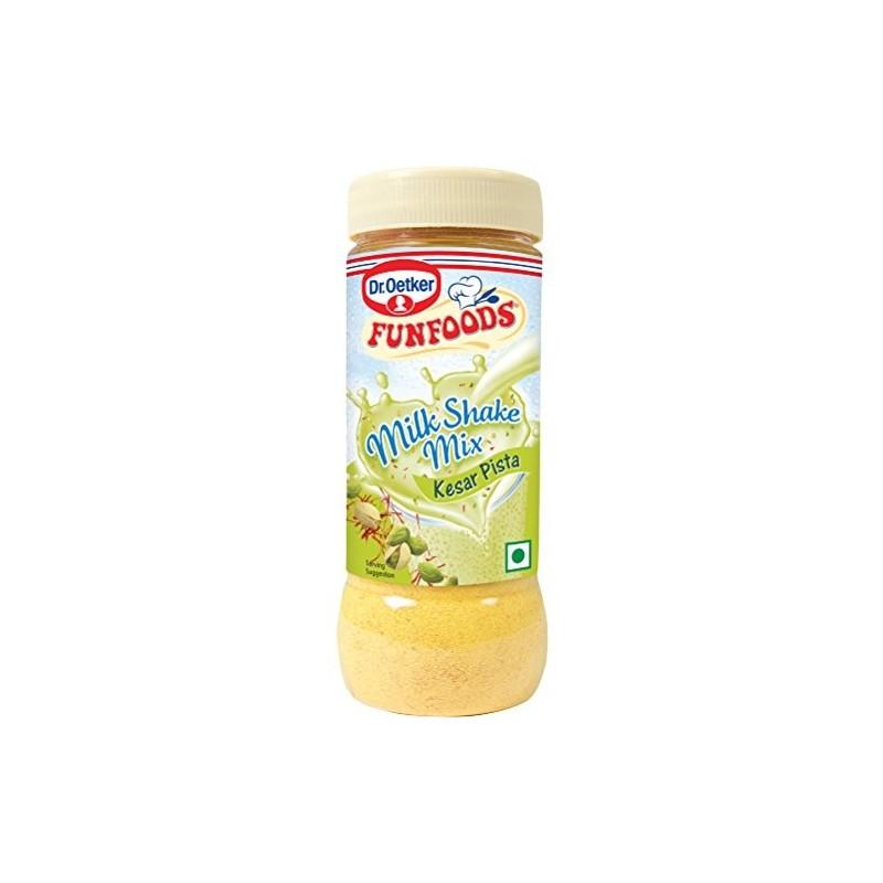 Funfoods Milk Shake Mix Kesar Pista 200g