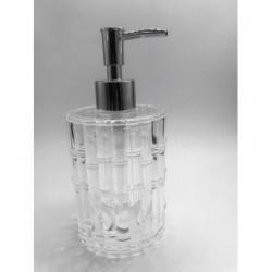 Dinewell Eden Acrylic Soap Dispenser Shower Lotion Gel Conditioner Liquid Shampoo Pump