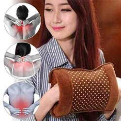 Electric Hot Heating pad Pocket Hand Warmer Electric Heater Warm Bag Assorted Color & Design