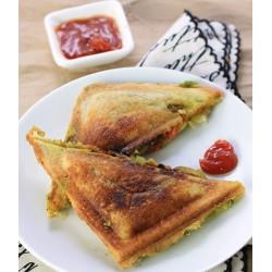 Anjali Aluminium Nonstick Sandwich Toaster Deluxe 2 Cut