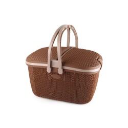 Cello Knits Style Shopping Storage Basket