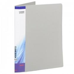 Sigma Clear Book A4 20PKT Grey