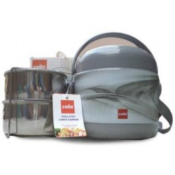 Cello Mark 2 Deluxe Lunch Carrier 2 Containers Lunch Box 600 ml