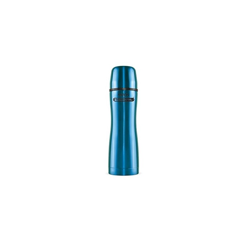 MILTON thermosteel ALLY 500 VACUUM FLASK BLUE