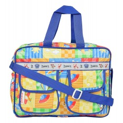 Zenniz Stylish Diaper Bags for Mom and Baby (Blue & Green)