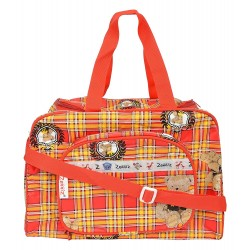 Zenniz Stylish Diaper Bags for Mom and Baby (Red & Yellow)