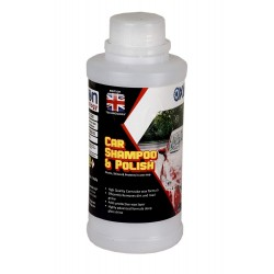Oxon Technology Car Shampoo and Carnauba wax, Cleans, Shines and Protects in one Step (500 ml)