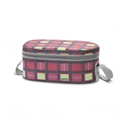 Milton Premium Corporate Lunch Box With One Year Warranty 3 Containers Lunch Box capacity: 280 + 280 + 450 ML