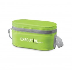 Milton Stainless Steel Executive Lunch Box Soft Insulated Tiffin Box 2 Ss Container 1 Microwave Safe Container Green