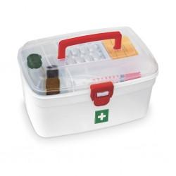 Milton Medical Box 2500 Ml Plastic Utility Container White