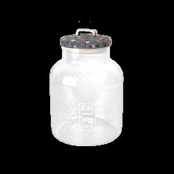 Cello Cookie Borosilicate Storage Jar 1600 Ml Transparent