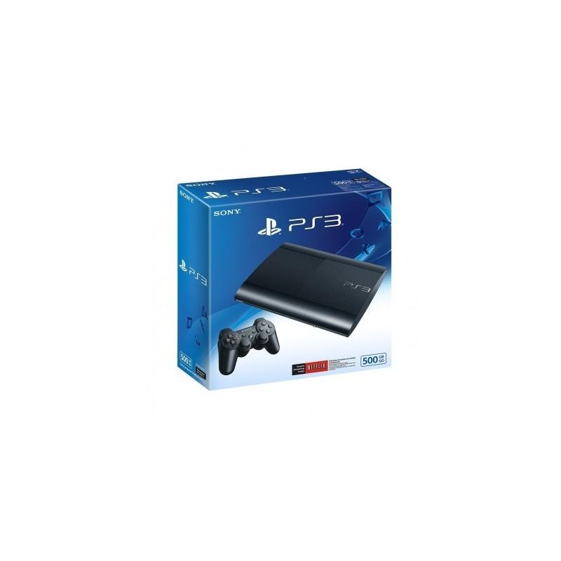 Sony Playstation 3 Ps3 Super Slim 500gb Hdd 20 Digital Full Game Lo
