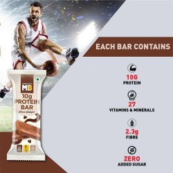 MuscleBlaze Mini-Protein Bar 10g Protein Choco Delight 12 bars