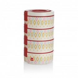 Cello My Decker 4 Containers Lunch Box 400 Ml